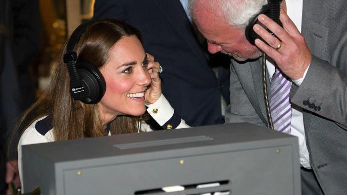 PHOTOS: Duchess Kate visits wartime work
