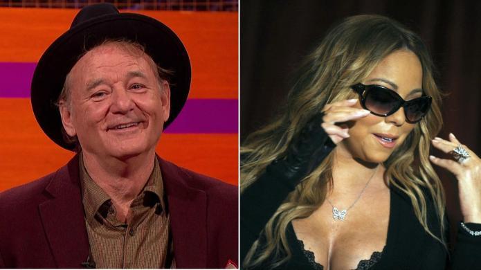 Celebrity sing-off: Mariah Carey vs. Bill