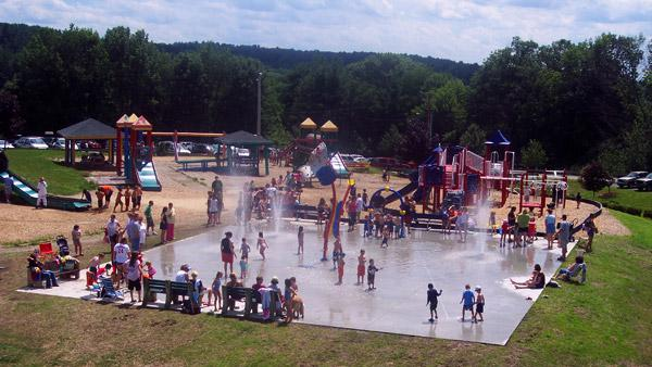 Derry New Hampshire's Splashpad