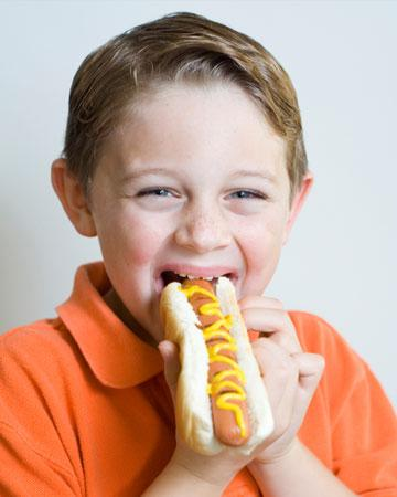 Is red meat safe for children?