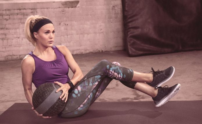 Carrie Underwood's fitness line is legit