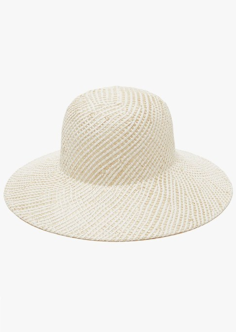 Best Sun Hats for Women: Clyde Koh Hat In Straw Toyo Weave | Summer Outfit Idea