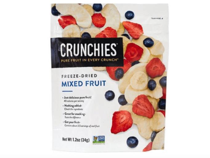 Best Snacks: Freeze dried fruit