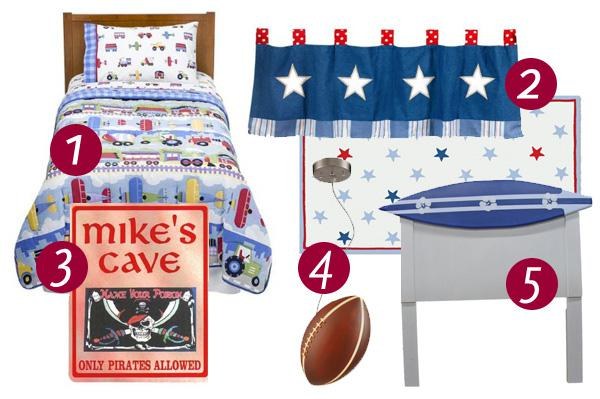 Trends and decoration ideas for boys'