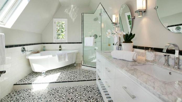 Floor design options to add pattern
