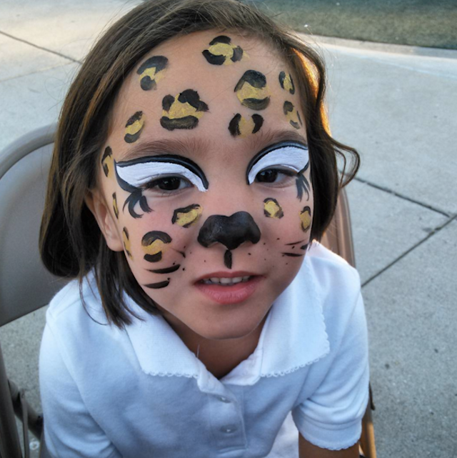 Easy Halloween Makeup For Kids.Easy Halloween Makeup Ideas For When Your Kid Needs A Cute