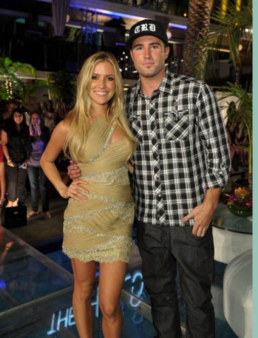 Brody Jenner and Kristin Cavallari on the red carpet for the Hills finale