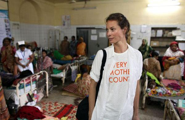 Christy Turlington's Every Mother Counts comes