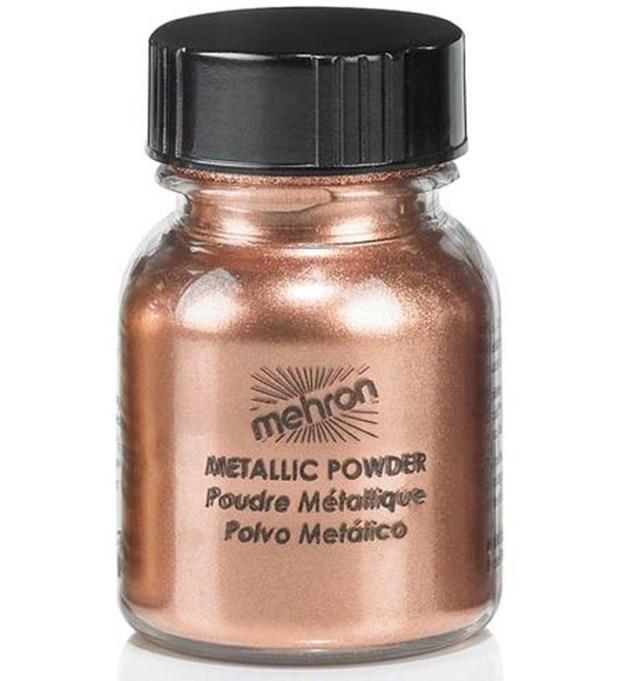 Prettiest Copper Eyeshadow: Mehron Metallic Powder in Copper | Summer Makeup 2017