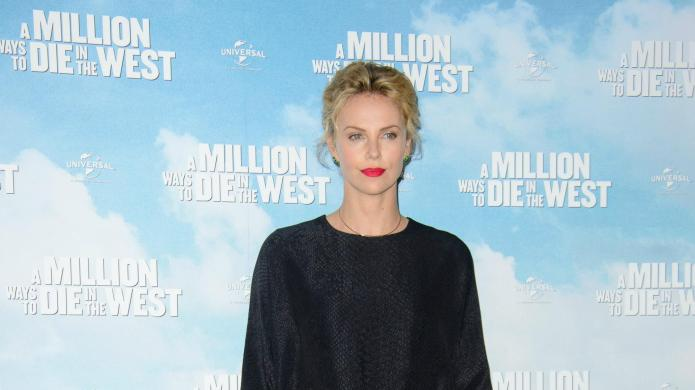 Charlize Theron has a Gwyneth moment