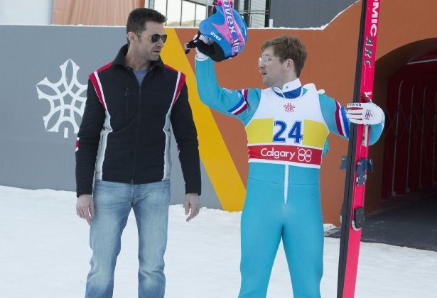 The many looks of Hugh Jackman: Eddie the Eagle