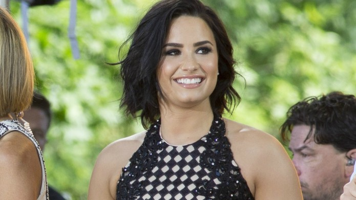 Demi Lovato is flaunting her bod