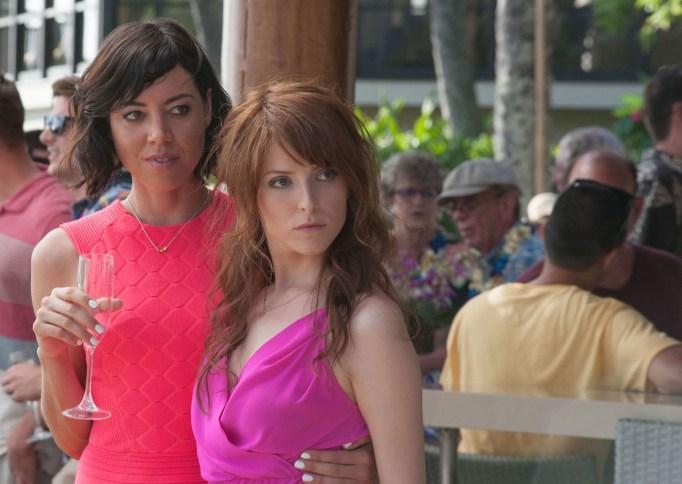 Anna Kendrick and Aubrey Plaza are bad girls