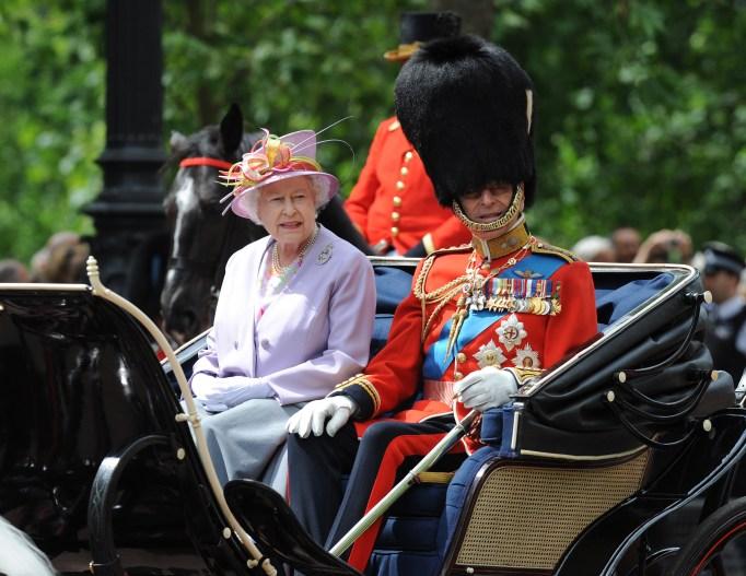 Queen Elizabeth II & Prince Philip in 2010