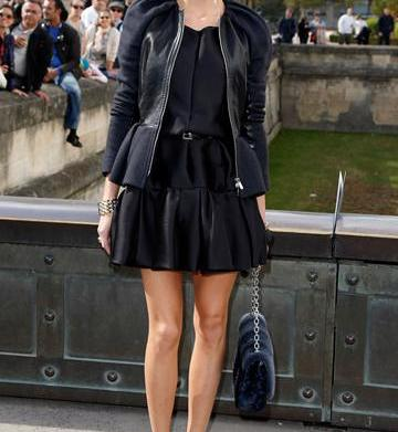 Steal the look: Olivia Palermo's black