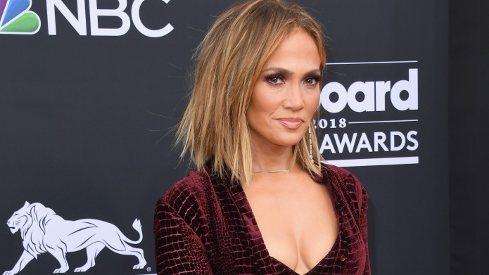 Jennifer Lopez attends the 2018 Billboard