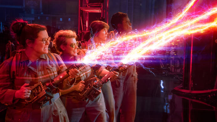 From Tarzan to lady Ghostbusters, July