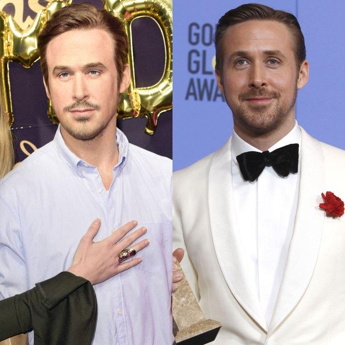 Ryan Gosling Madame Tussaud wax figure
