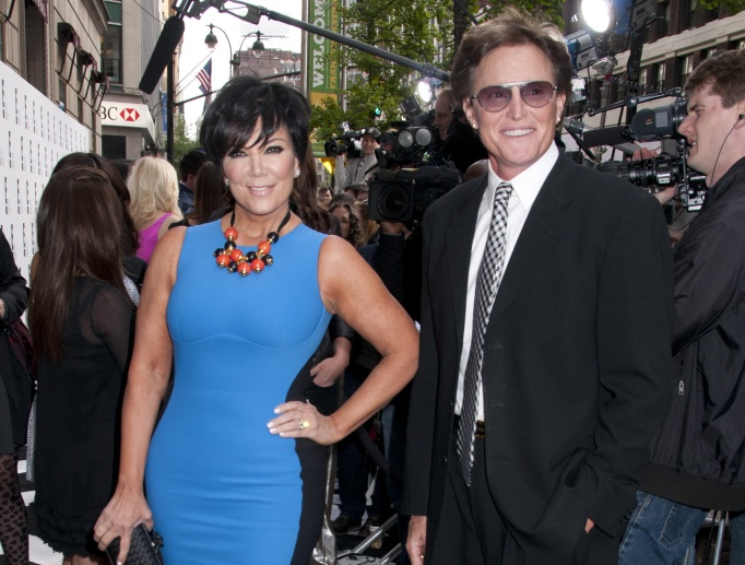 Kris and Bruce Jenner in 2012