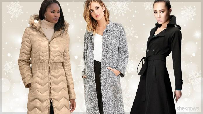 15 Full-length coats under $100 that