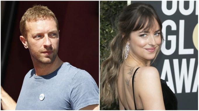 New Hollywood Couples: Chris Martin and Dakota Johnson