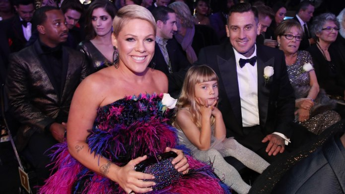 Pink's Daughter Gives Dad Carey Hart