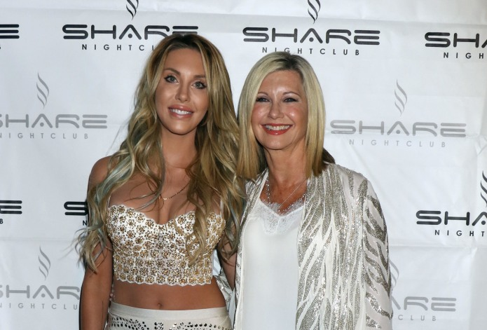 Olivia Newton-John's daughter viciously attacked for