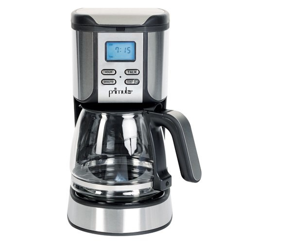 listening coffeemaker