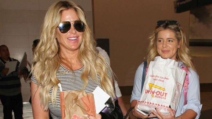 Kim Zolciak at Los Angeles International