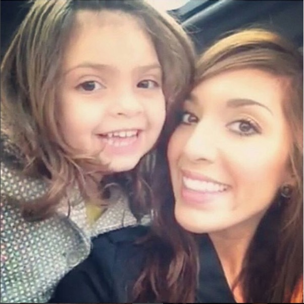 Teen Mom's Farrah Abraham and daughter Sophia on 'Mom Crush Monday'