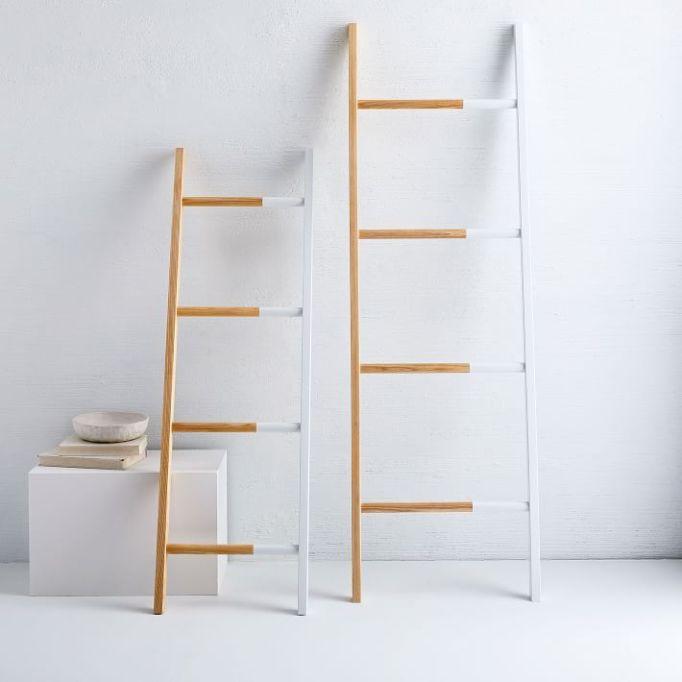 West Elm solid manufacturing decorative found ladder