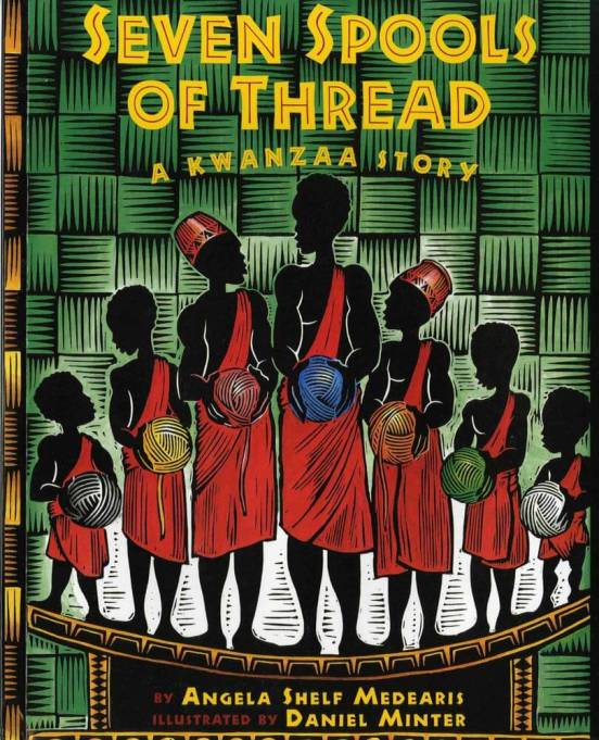Winter Holiday Book for This Season | 'Seven Spools Of Thread: A Kwanzaa Story'