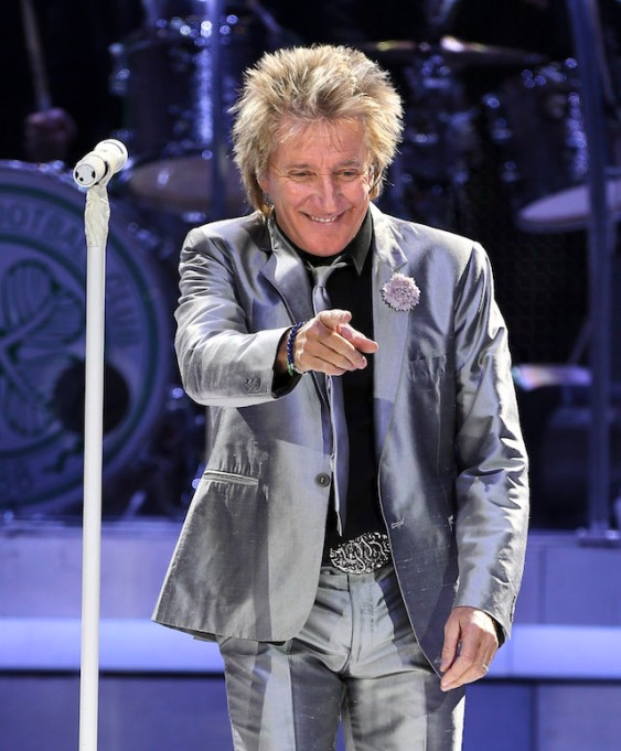 Check out Rod Stewart's hairstyle evolution