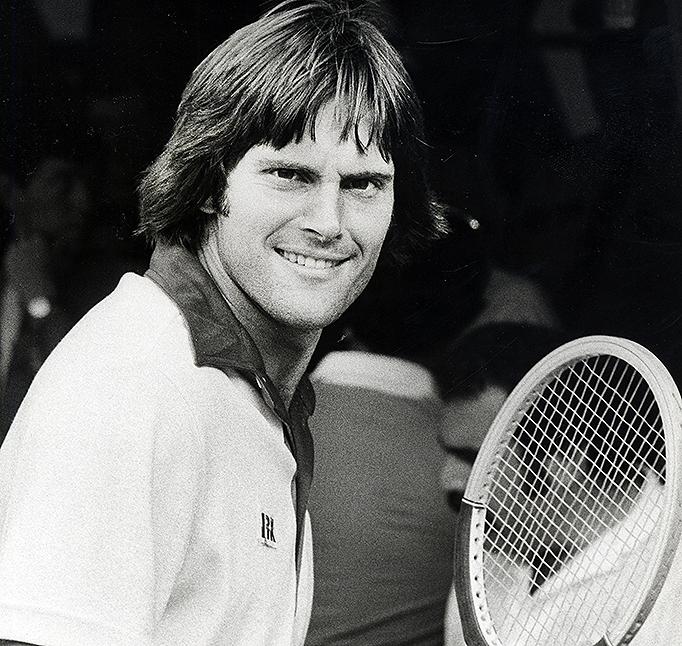 Bruce Jenner during RFK Pro-Celebrity Tennis