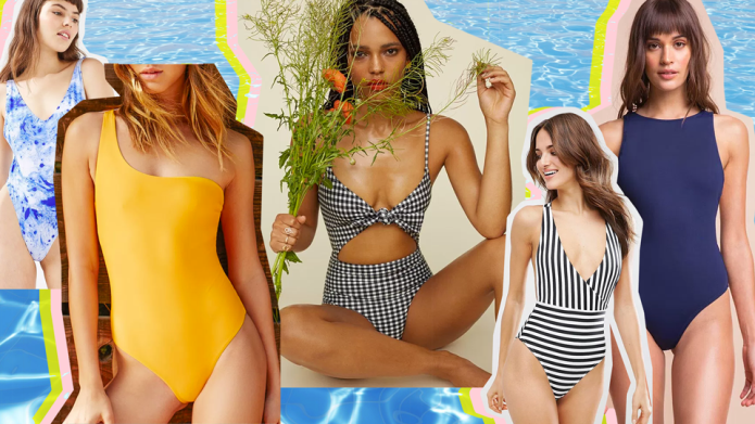 21 Flattering One-Piece Swimsuits That Are