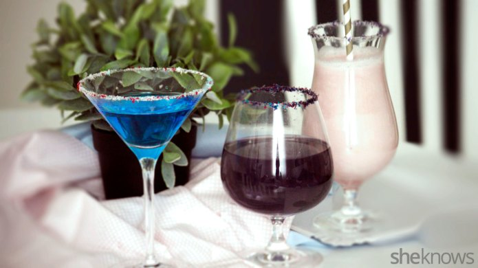 3 Gin cocktails inspired by unicorns