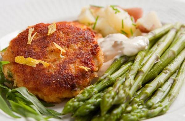 Tonight's Dinner: Potato salmon cakes recipe