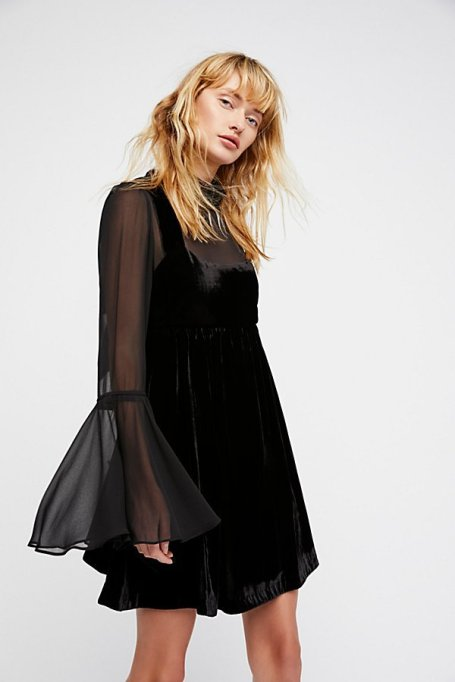 Must-Have Long Sleeve Dresses | Counting Stars Mini Dress