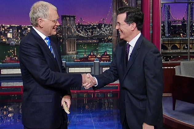 The Late Show with David Letterman (and then Stephen Colbert)