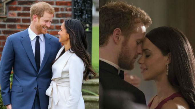 Prince Harry, Meghan Markle, Murray Fraser, Parisa Fitz-Henley, Lifetime Movie