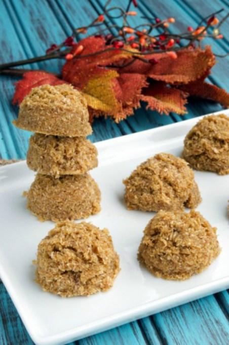 Easy No-Bake Thanksgiving Desserts: Paleo Pumpkin Cookies