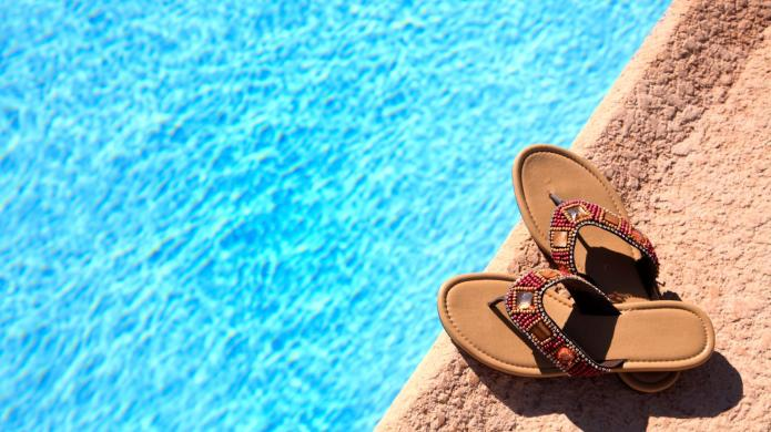Funky and wearable flip-flops