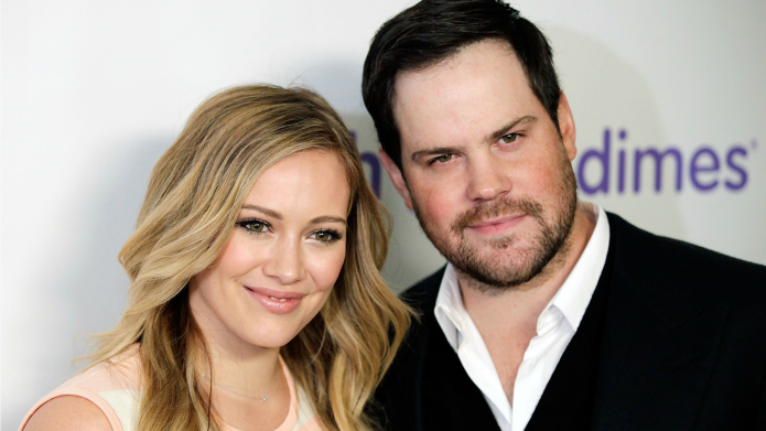 Hilary Duff just can't quit ex,