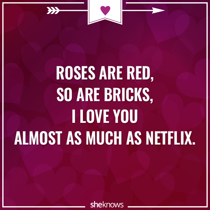 12 Roses Are Red Love Poems Rewritten For 2016 Sheknows