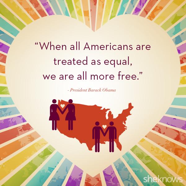 Barack Obama same-sex marriage quote