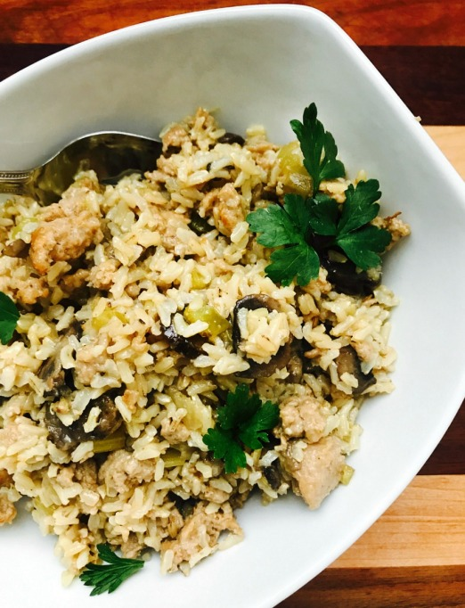 Instant Pot Thanksgiving: Make this healthy rice stuffing in the Instant Pot