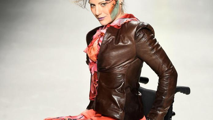 Models with disabilities just took over