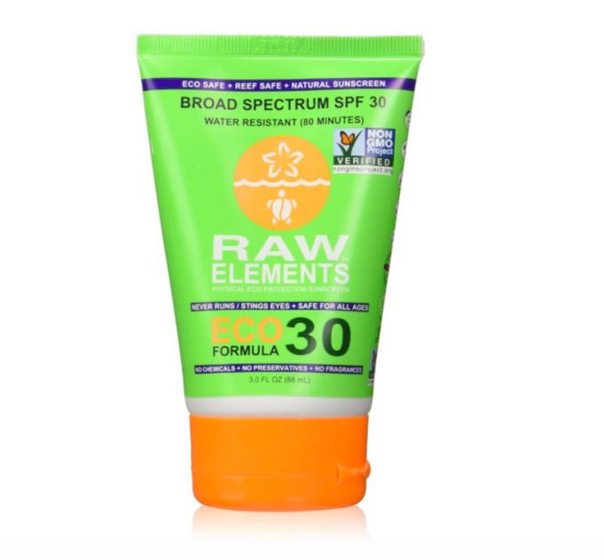 Raw Elements sunscreen
