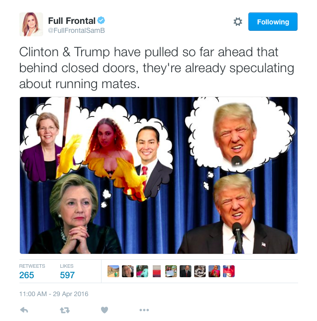 Samantha Bee Tweet