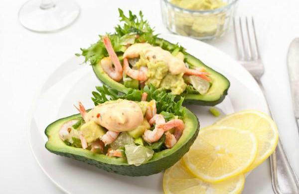 Avocado and spicy lime shrimp ceviche